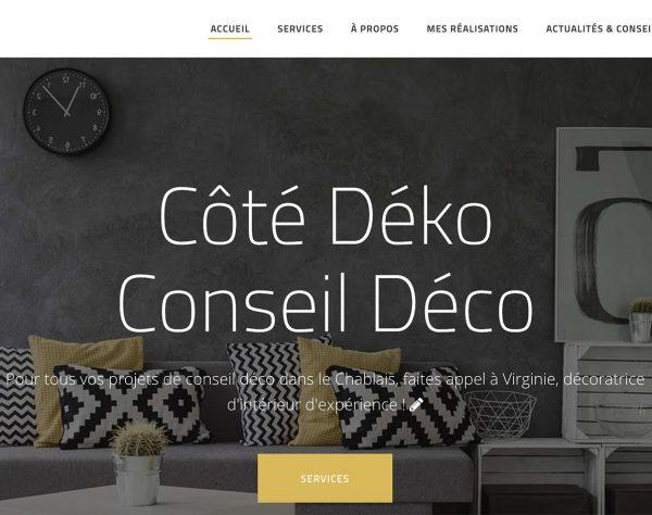 création site internet décoration