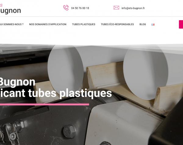 Création site internet pour Ets Bugnon