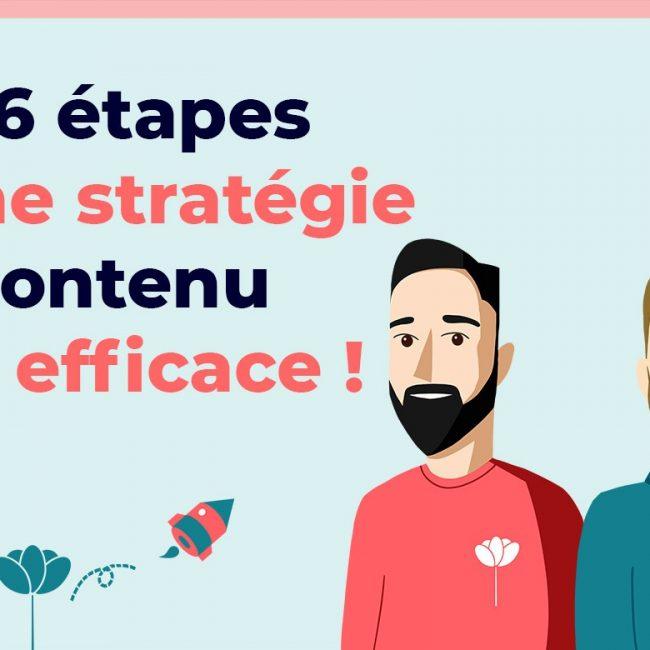Les 6 étapes d'une stratégie de contenu SEO efficace