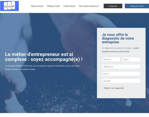 Création de site internet landing page et vidéo-marketing par l'agence web Cocliko à Thonon