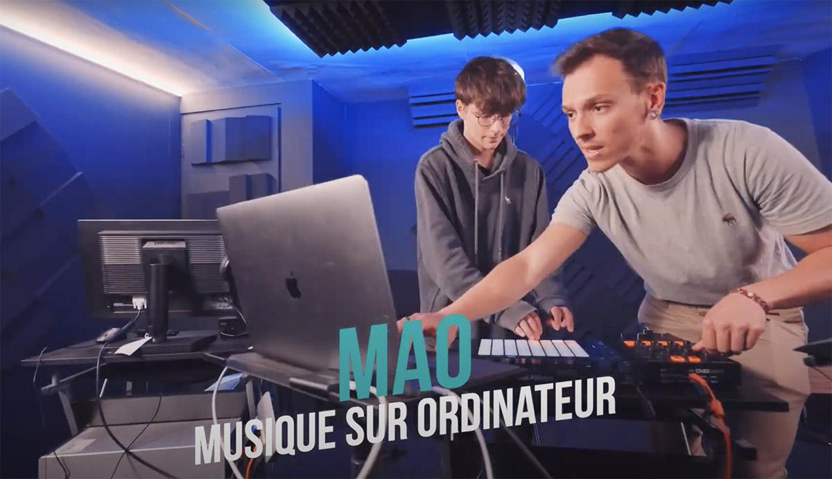 Ecole musique video marketing